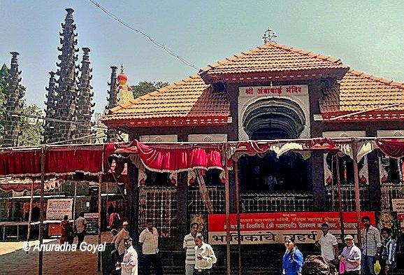 कोल्हापुर महालक्ष्मी मंदिर का प्रवेश द्वार