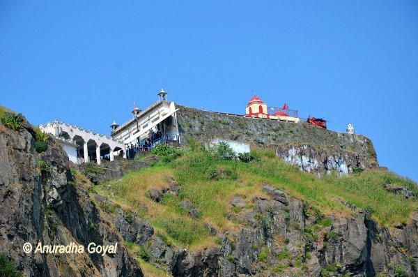 पावागढ़ पहाड़ी पे कालिका माता का मंदिर