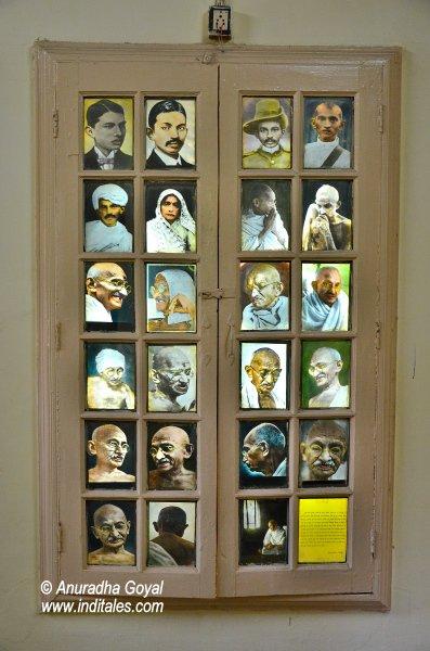 गाँधी जी की तस्वीरें – सत्याग्रह आश्रम