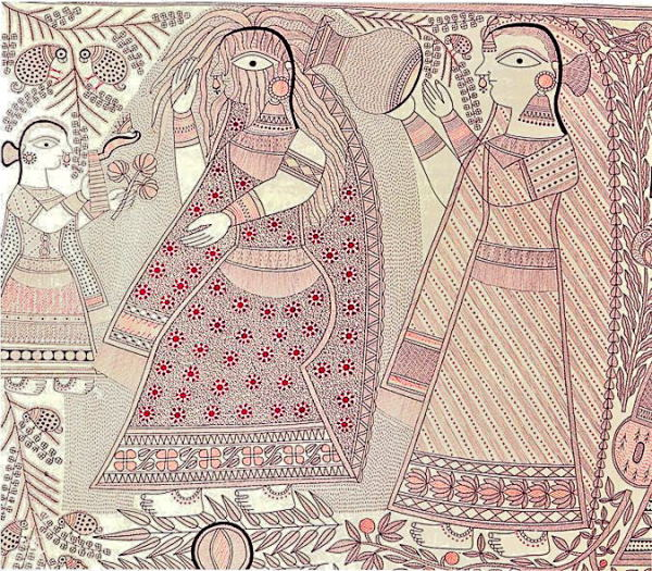 गंगा देवी की मानव जीवन श्रृंखला
