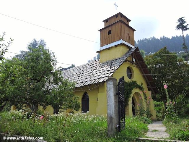 सेंट मेरी चर्च - कोटगढ़ - हिमाचल प्रदेश पर्यटक स्थल
