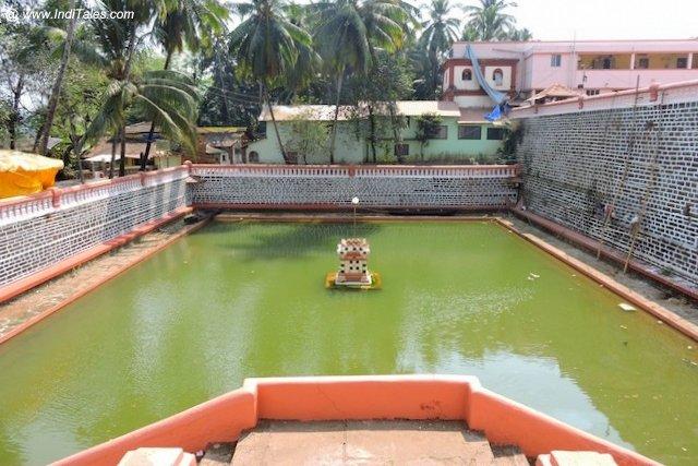 श्री शांतादुर्गा मंदिर गोवा की पुष्करणी या तल्ली