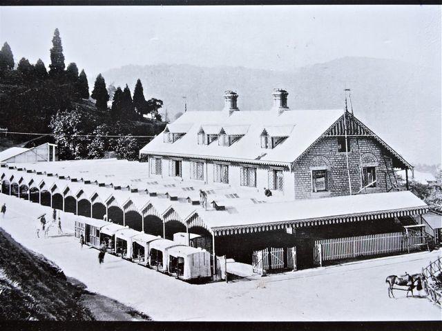 दार्जीलिंग स्टेशन के पुरानी तस्वीर