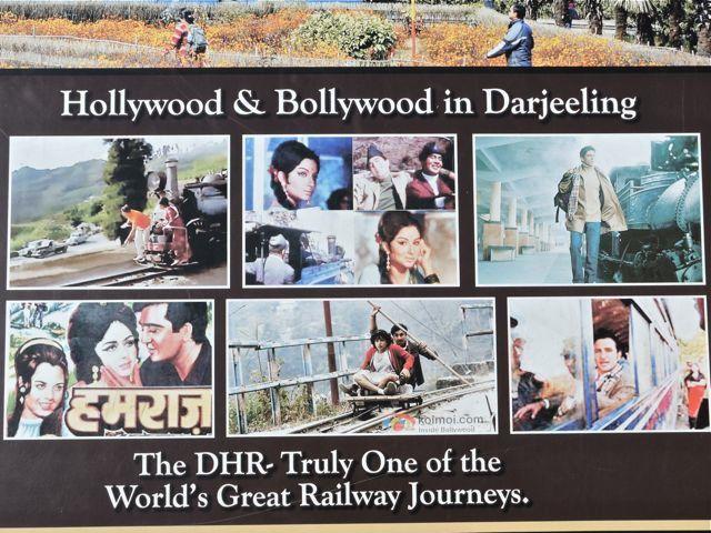 दार्जिलिंग में फिल्माई हिंदी फ़िल्में