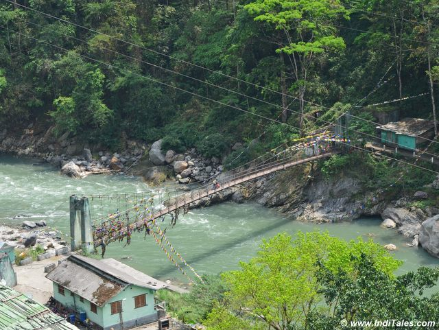 Bridge over Rangit River