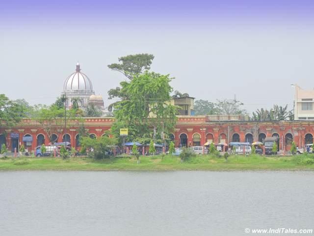 Sagar Dighi and Rajbari dome