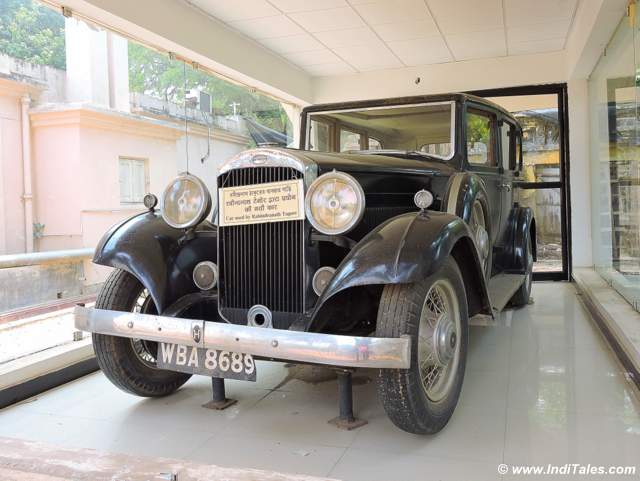 Gurudev Rabindranath Thakur's car
