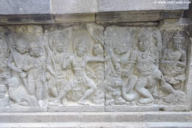 बाली वध - रामायण दृश्य - प्रमबनन