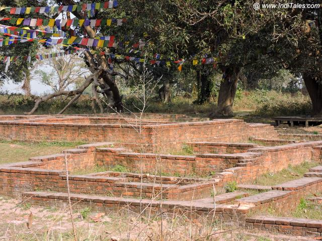 तिलौराकोट दुर्ग के अवशेष - कपिलवस्तु नेपाल
