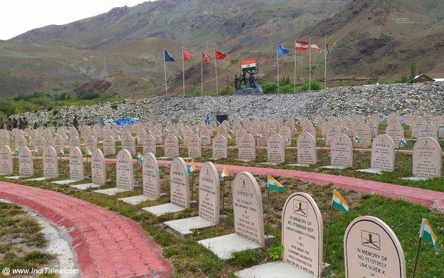 द्रास युद्ध स्मारक - वीर भूमि