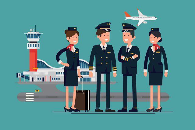 विमान कर्मीदल - दुनिया घुमाते व्यवसाय