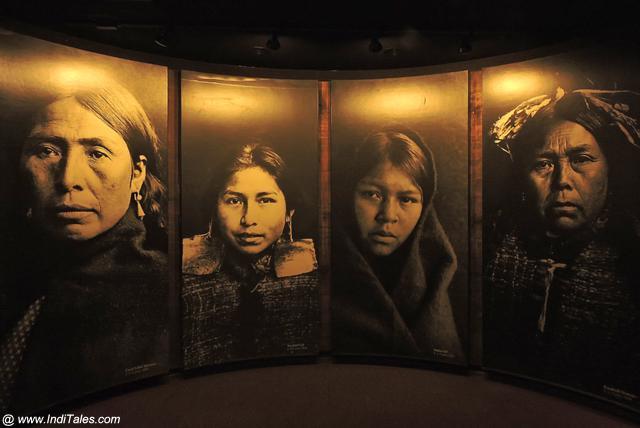 फर्स्ट नेशन्स समुदायों की महिलाओं के चित्र