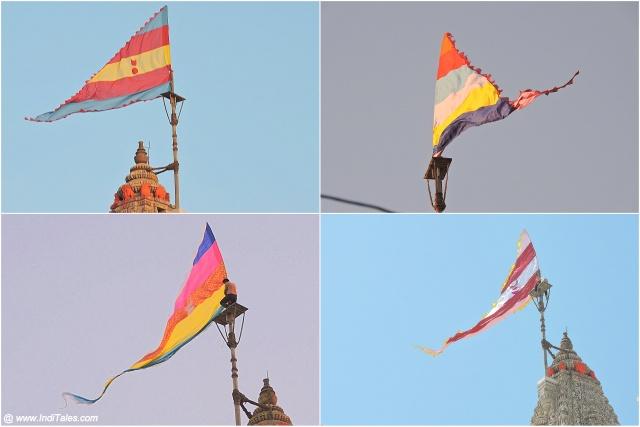 द्वारकाधीश मंदिर का प्रसिद्ध ध्वजारोहण