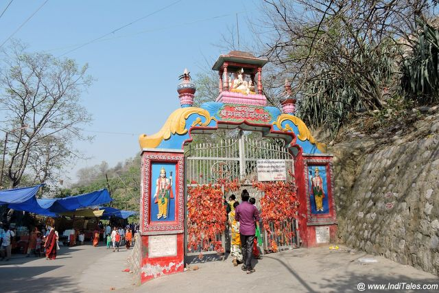 Mansa Devi Temple situated on the Bilva Mountains