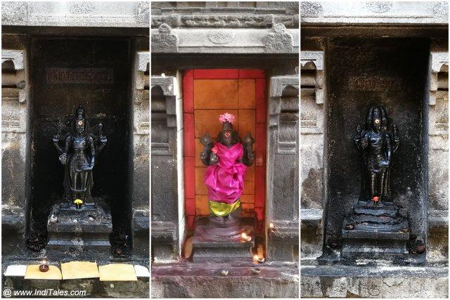 पुन्यकोटीश्वर मंदिर की प्रतिमाएं