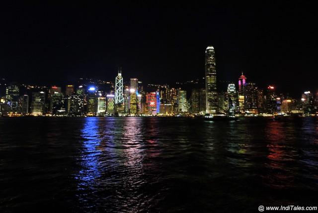सिम्फनी ऑफ़ लाइट्स - हाँग काँग द्वीप