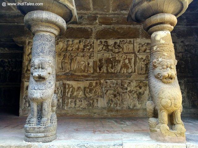 कथा कहती भित्तियां - वैकुण्ठ पेरूमल मंदिर