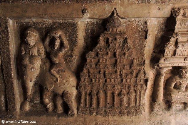 मंदिरों की प्रतिमुर्तियाँ