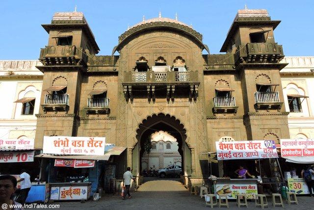 कोल्हापुर भवानी मंडप का एक और द्वार