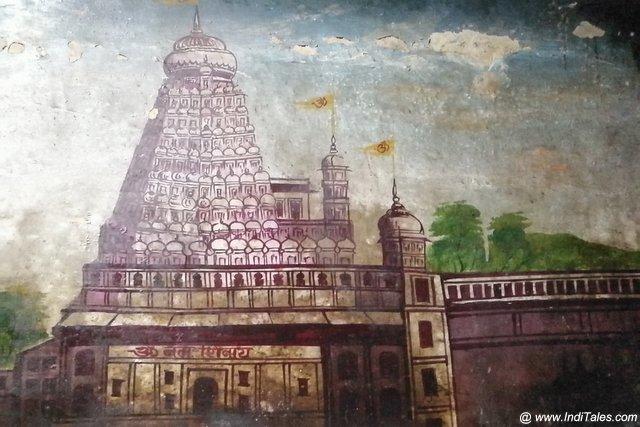 अटपटेश्वर मंदिर के भित्तिचित्र