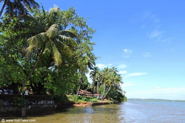 गोवा की मांडवी नदी