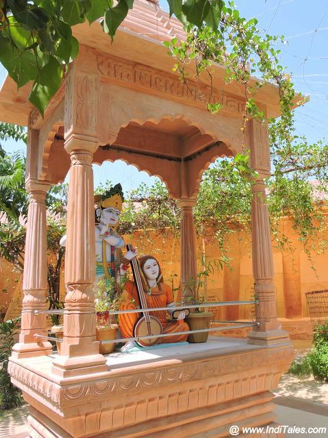 In the groves of Krishna and Meera Merta