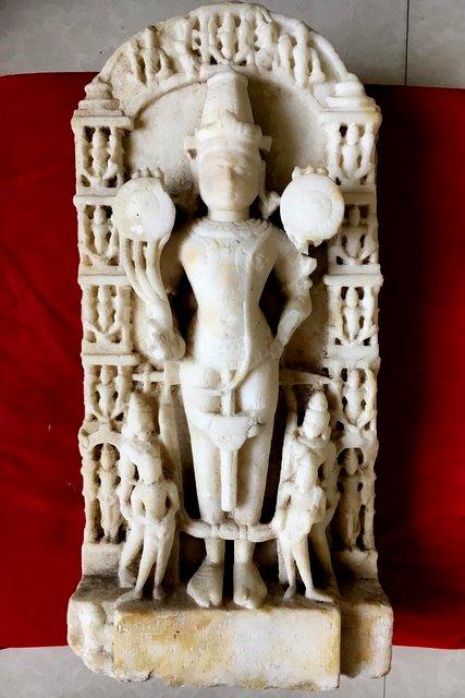 जैन सूर्य प्रतिमा १४१२ ईसवी