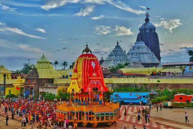 Jagannath Puri Temple at Rath Yatra