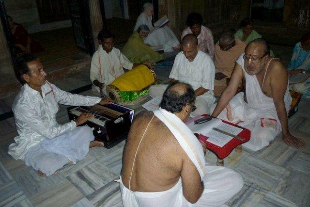 Bhajan evening