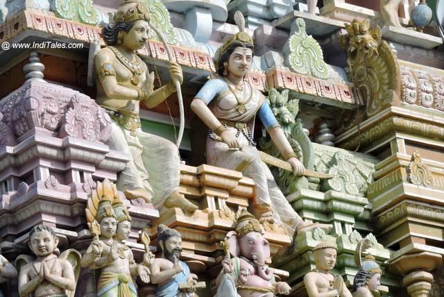 Raj Gopuram - Thiruketheeswaram Temple Mannar