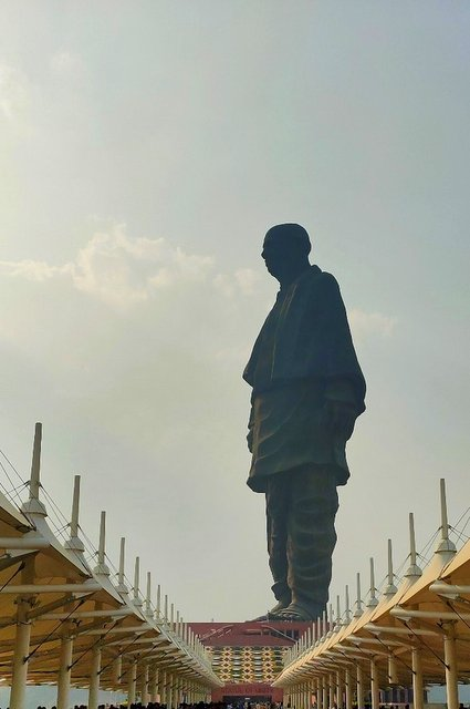 Grand statue of Sardar Patel
