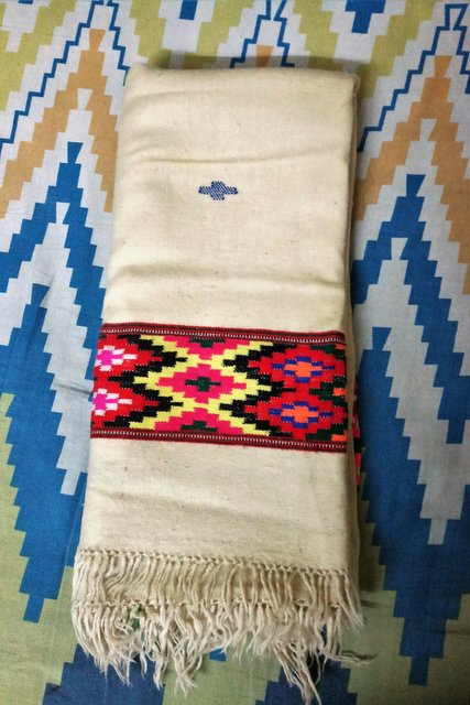 Typical Kullu Shawl as Himachal souvenirs