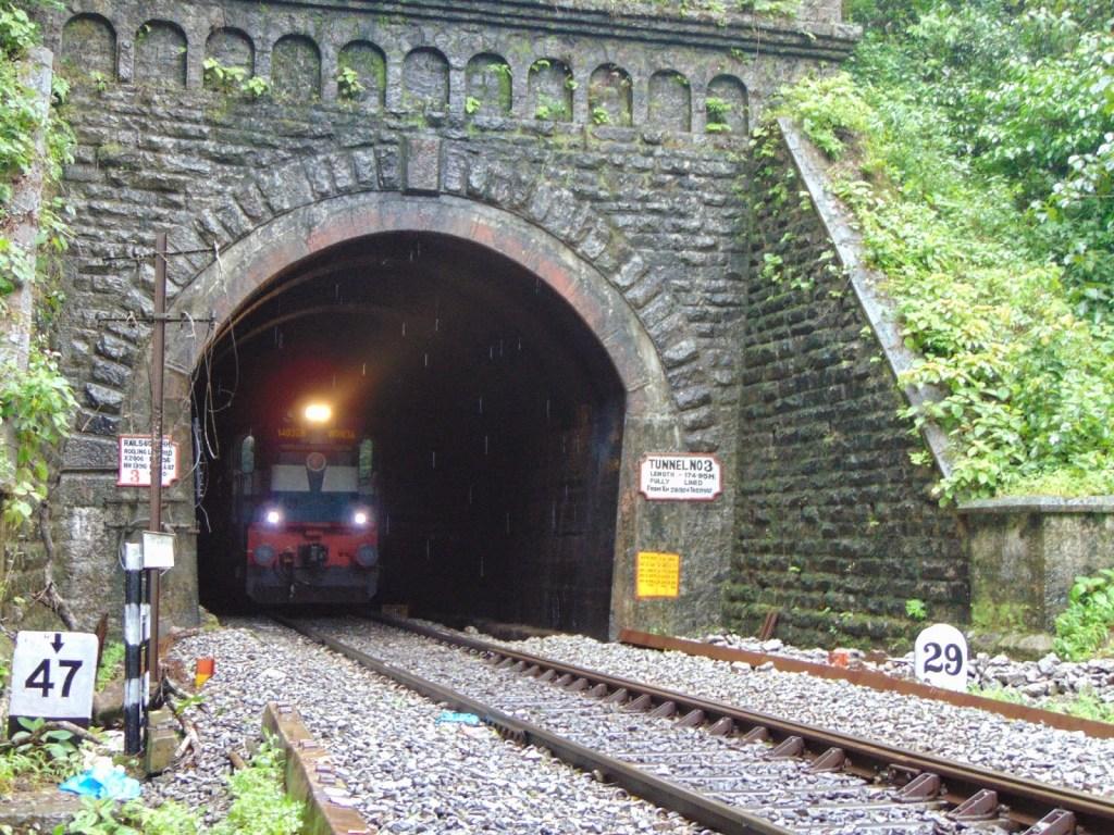 dudhsagar tunnel