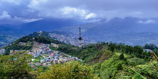 The heart throbbing city, Gangtok