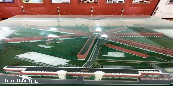 Model of the structure of Cellular Jail