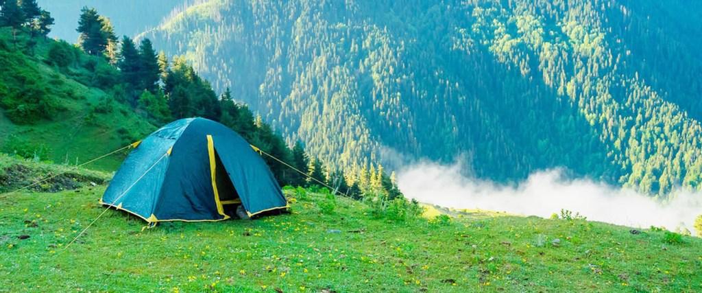 camping parvati valley