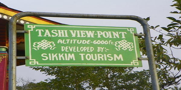 Sikkim tourism boards.