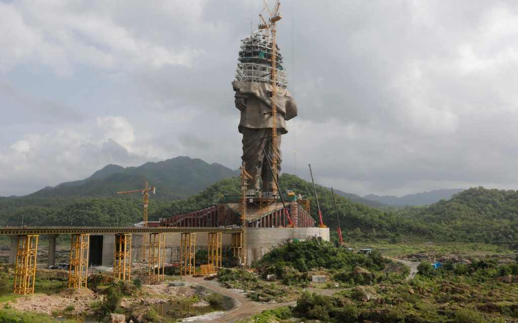 Statue of Unity Construction