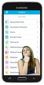 GeoBlue International FREE Mobile Phone APP, mMobile