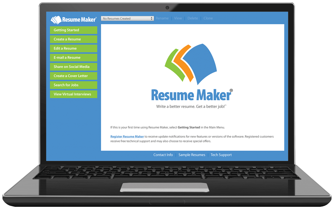 resume maker for windows