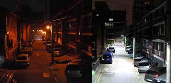 광진구, LED조명 교체 '주택가 좋은 빛환경 개선사업' 시행