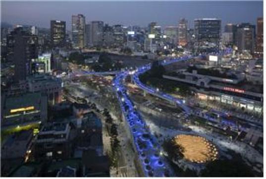 서울로 7017 야경