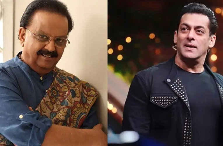 Heartbroken to hear about SP Balasubrahmanyam's death, Salman Khan says 'you will forever live on in your undisputed legacy of music'