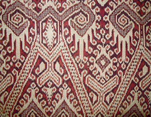Ceremonial Ikat from west Kalimantan