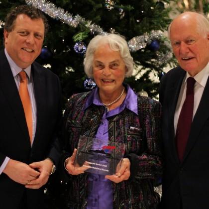 Laureate 2012: Mrs. Joty ter Kulve-Van Os