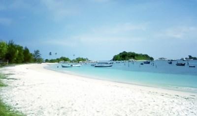 Tanjung Kelayang Beach in Belitung Island