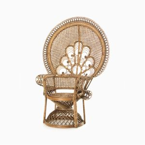Saleema Peacock chair - Natural Rattan Wicker Furniture