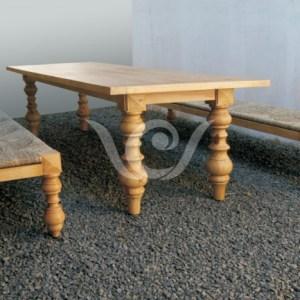 Industrial Reclaimed furnitureOmega |Dining Set Reclaimed Pine