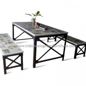 Tablo Industrial Bench Indonesia Industrial Furniture