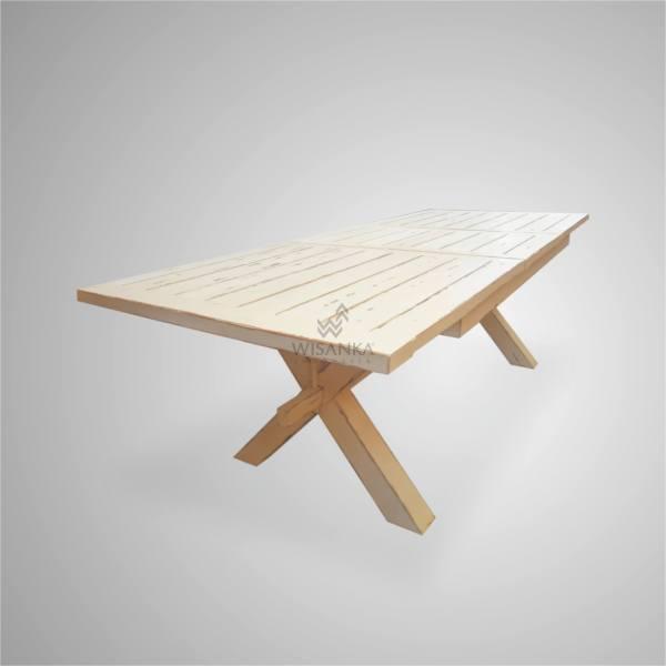 X-LEG DINING TABLE